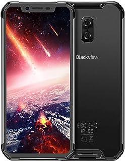 Blackview BV9600 PRO-Android 8.1 4G LTE屋外スマートフォン6.21インチ19:9 FHD AMOLEDディスプレイ(超狭額縁)、Helio P60 6GB + 128GB、5580mAhバッテリー、IP68...