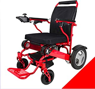 Sillas de ruedas eléctricas para adultos Silla de ruedas silla de ruedas, silla de Rehabilitación Médica for Personas Mayores, Personas antiguas, Foldalite Trekker powerchairs - Silla de ruedas eléctr