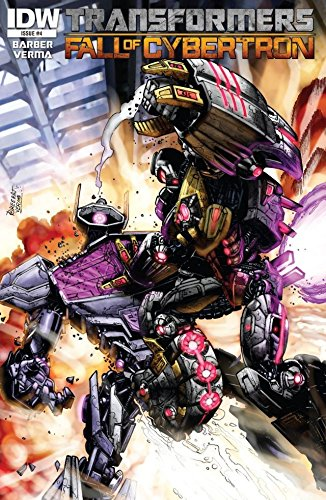 Transformers: Fall of Cybertron #4 (of 6) (English Edition)