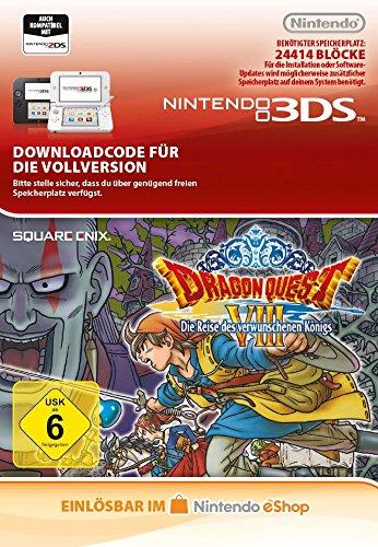 Dragon Quest VIII: Die Reise des verwunschenen Königs [3DS Download Code]