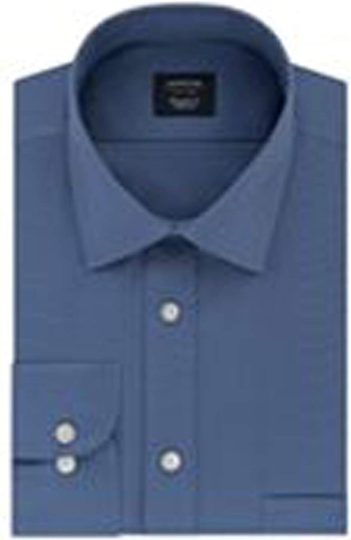 Arrow Big & Tall Men Dress Shirt Demin Stretch Fabric Big Fit Easy Care Size