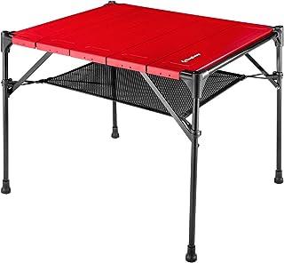 Kingcamp キャンプ テーブル アウトドアテーブル 51*42*42cm 耐荷重30KG アルミ 折りたたみ BBQ ピクニック コンパクト 超軽量 専用収納袋付き KC1909
