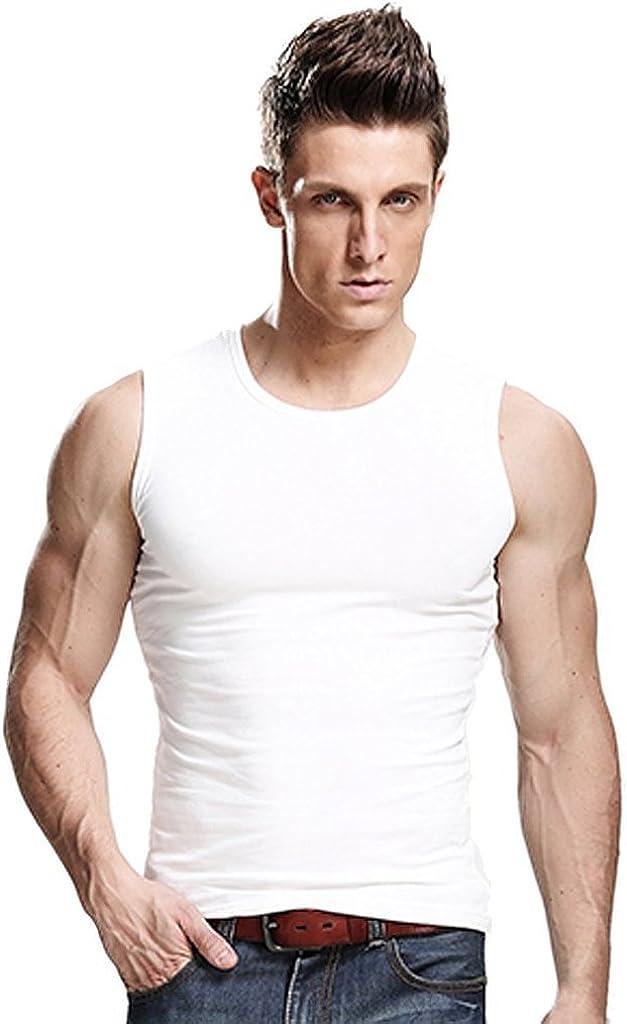 Ranking TOP12 XUDIAN Men Tank Top Crew-Neck A-Shirt Sleeveless specialty shop
