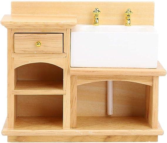 Details about  /12pcs 1:12 Dollhouse Miniature Wash Basin Water Tap Faucet Furniture AccessoN EP
