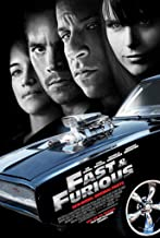 FAST AND FURIOUS MOVIE POSTER 2 Sided ORIGINAL 27x40 VIN DIESEL