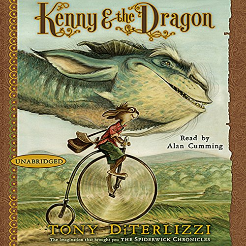 Kenny & the Dragon audiobook cover art