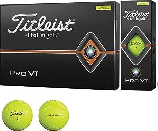 タイトリスト(TITLEIST) ゴルフボール 2019 Pro V1 ローナンバー イエロー ユニセックス T2126S-J イエロー