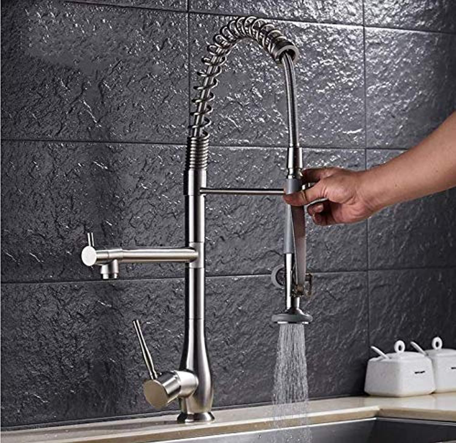 Water Tapfaucet Taps Hot and Cold Water Faucet Kitchen Pull Faucet redating Dual-Use Sink Hot and Cold