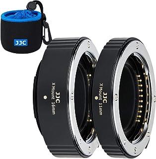 JJC Autofokus makro förlängningsrör 11 mm/16 mm för Fujifilm Fuji X Mount X-S10 X-Pro3 X-Pro2 X-A7 X-A5 X-T30 X-T3 X-T4 X-...