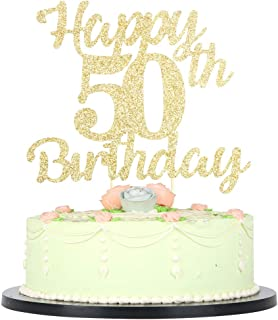 Best 50th golden birthday cake Reviews