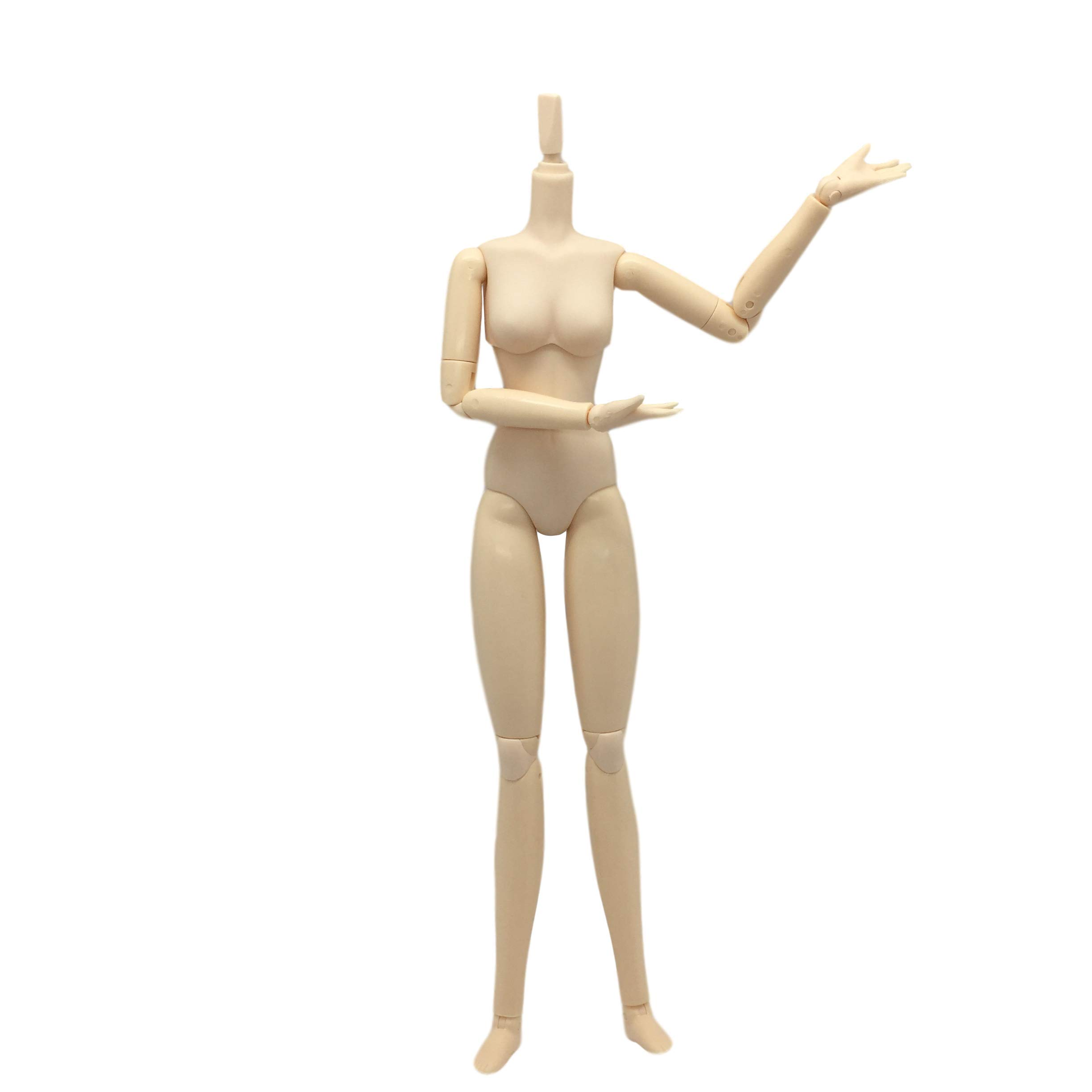 27cm Movable 20 Joints Female Doll Body for Obitsu OB Doll Replacement #A