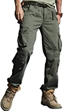 Tactical Pants for Men Combat Cargo Trousers Army Military Multi Pocket Work Outdoors