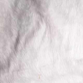 Shannon Faux Fur Monkey White