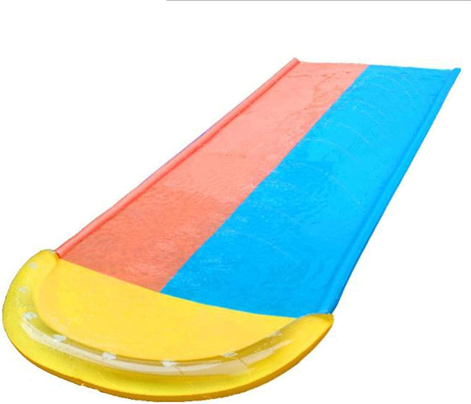 196.85 × 59.06inch Lawn low-pricing Water Slide 2 National uniform free shipping and B Slip Slides with