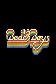 Beach Boys Rainbow Ripple Logo: Journal, Lined Notebook, 120 Blank Pages, Journal, 6x9 Inches, Matte Finish Cover