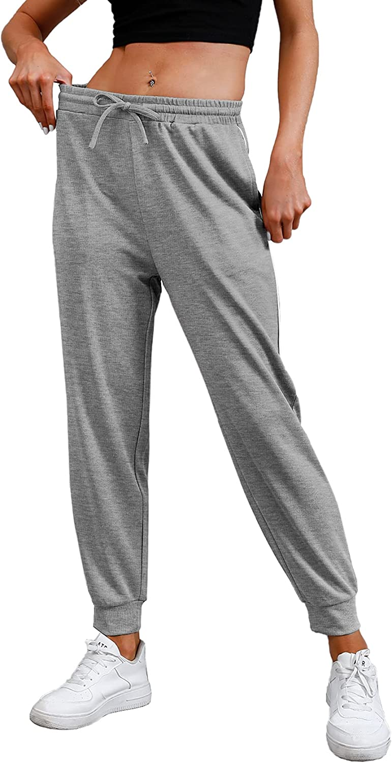 NIASHOT Sweatpants for Women Cinched Basic Cuff trend rank w Joggers Active OFFicial