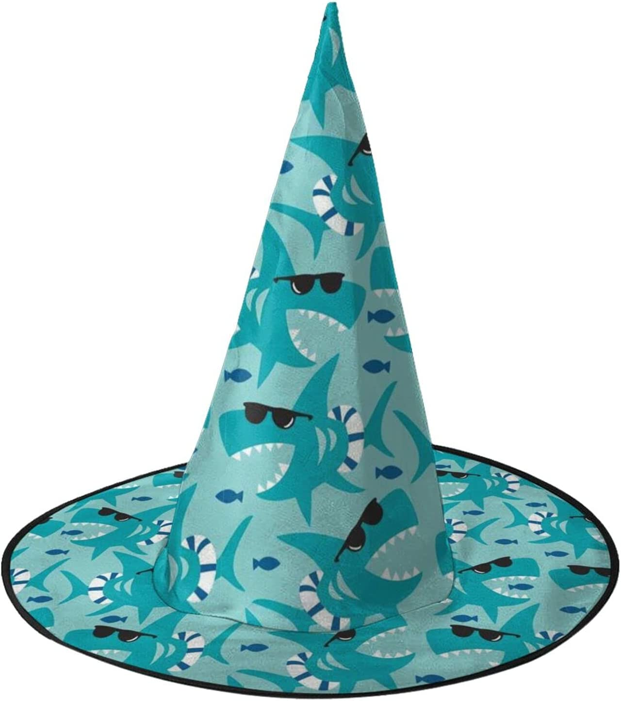 Anime Shark Womens SEAL limited product Witch Hat Girls Halloween Cap Boys Ranking TOP17 Party for
