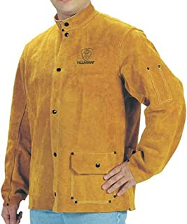 Tillman Bourbon brown Large Leather/Kevlar Jacket - 3 Pockets - 30 in Length - 608134-32800 [PRICE is per EACH]
