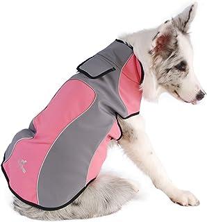 XS, Amarillo Ropa Abrigada de Invierno Abrigos Reversibles para Perros peque/ños medianos PENIVO Chaqueta de 6 Colores para Mascotas Ropa para Perros Repelente al Agua