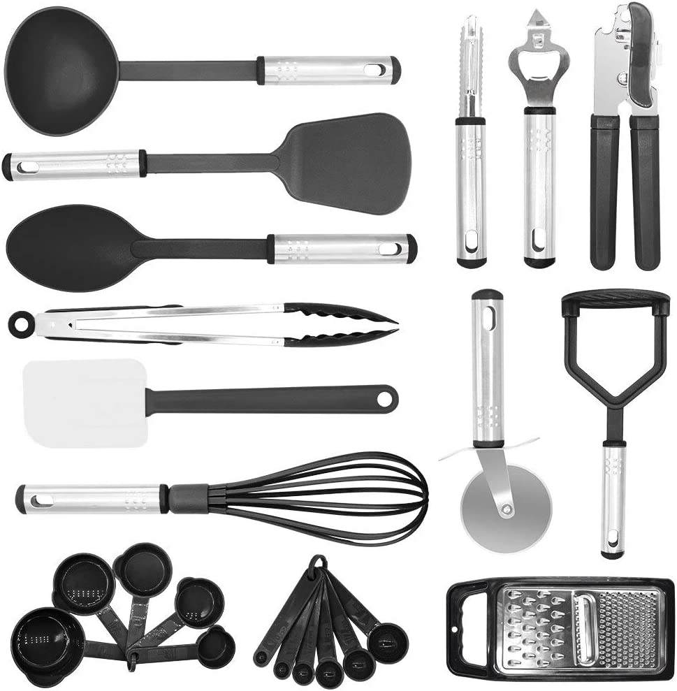 Popular brand ONEWD Silicone Kitchen Sets Cookware Nylon Tools Spatula Max 64% OFF Cooking