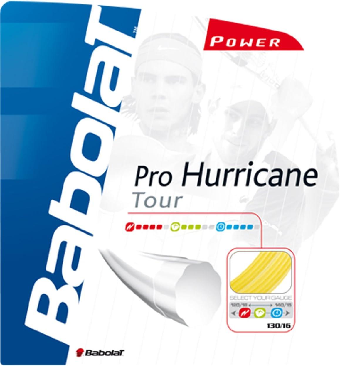 Babolat Pro Denver Mall Sale price Hurrican Tour Yellow Tennis 17-Gauge String
