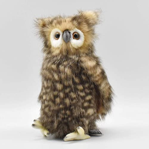 Owl with Moving Head Plush Soft Toy - 24cm