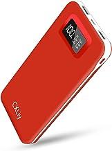 شارژر قابل حمل پاوربانک با ظرفیت بالا 24000mAh باتری تلفن تلفن شارژر تلفن دوگانه خروجی 2 پورت ورودی صفحه نمایش LCD اندازه کوچک سازگار با تلفن های هوشمند ، تبلت و دستگاه آندروید