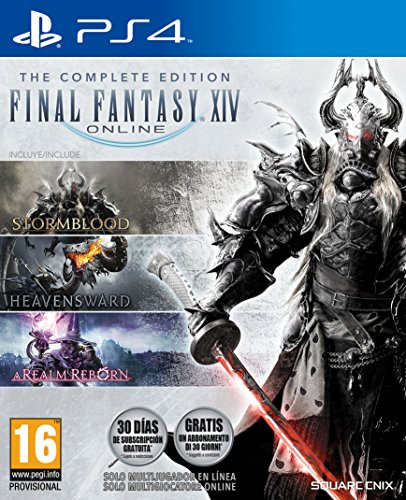 Final Fantasy XIV The Complete Edition - Complete - PlayStation 4