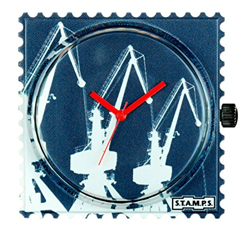 S.T.A.M.P.S. Stamps Uhr, Zifferblatt Frogman, wasserdicht Boom Cranes 103795