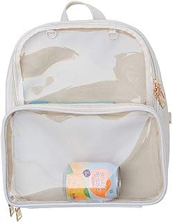 Ita Bags Zaino per la scuola delle ragazze carino estate spiaggia borsa trasparente finestra per decorazioni fai da te