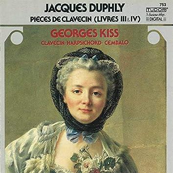 Duphly: Pièces de clavecin, Livres 3 & 4