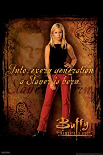 Pyramid America Buffy The Vampire Slayer Into Every Generation a Slayer is Born 90s TV Show Series Horror Cool Wall Decor Art Print Poster 12x18