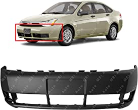 MBI AUTO - Primered, Front Bumper Cover Replacement for 2008 2009 2010 2011 Ford Focus 08 09 10 11, FO1000634