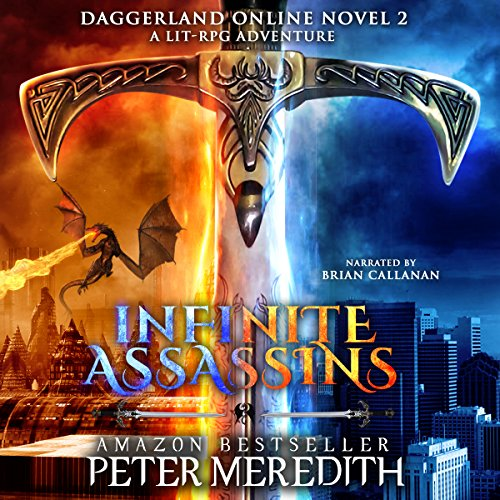Infinite Assassins audiobook cover art
