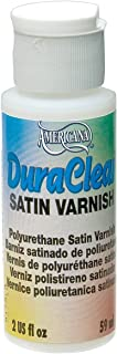 DecoArt Americana DuraClear Varnishes, 2-Ounce, Satin