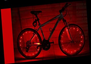 featured product YYGIFT Waterproof 20 LED Bicycle Wheel Light String Safety Cool Bike Wheel Light for Night Safe Cycling - Working with 3AA Batteries