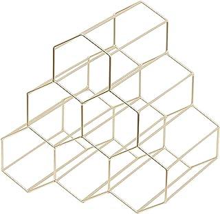 YXXHM- Estantería de Metal para vinos o restaurantes Estilo nórdico Simple y Creativo para decoración de salón o Vino ...