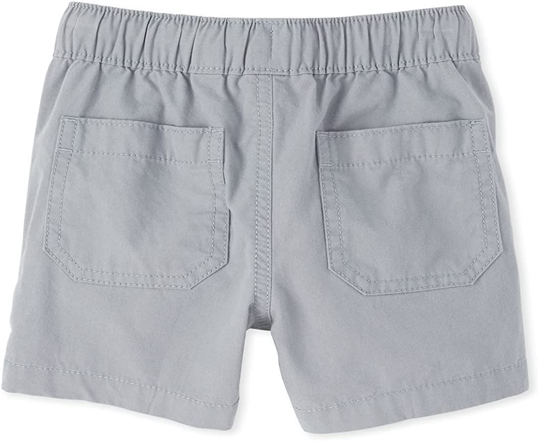 The Children's Place Boys' Baby and Toddler Pull on Jogger Shorts: Clothing