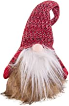 ErYao Christmas Holiday Decoration Santa Gnome Plush Doll, Handmade Elf Dwarf Decoration, Christmas Party Gifts
