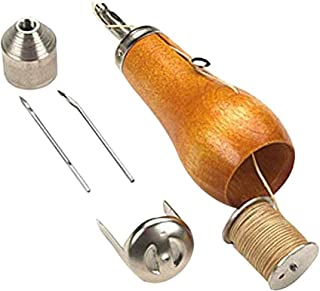 Loosnow Professional Speedy Stitcher Sewing Awl Tool Kit for Leather Sail & Canvas Heavy Repair