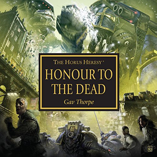 Honour to the Dead audiobook cover art