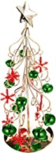 TOYANDONA Metal Christmas Tree Ornament Wrought Iron Xmas Tree Easy Assembly Display Stand for Seasonal Holiday Party Supp...