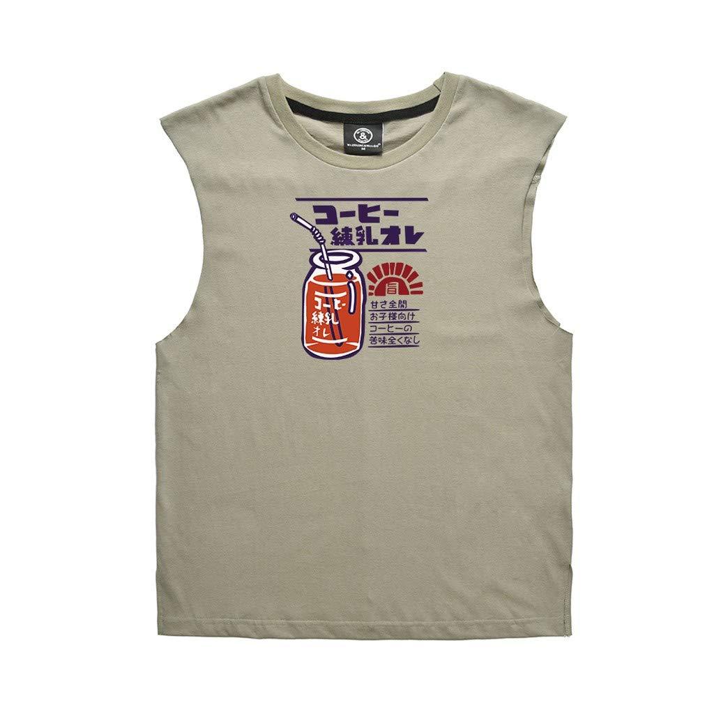iHPH7 Mens Tank Tops Sleeveless T-Shirt #19052732