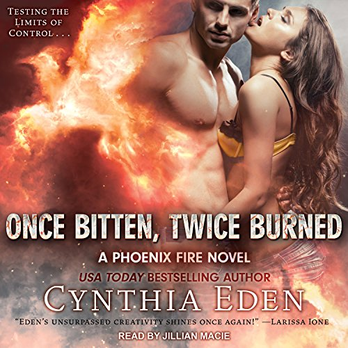 Once Bitten, Twice Burned audiobook cover art