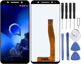 Fixa telefondelar renovera LCD-skärm och digitizer Fullständig montering för Alcatel 3L 5034D 5034 Tillbehör