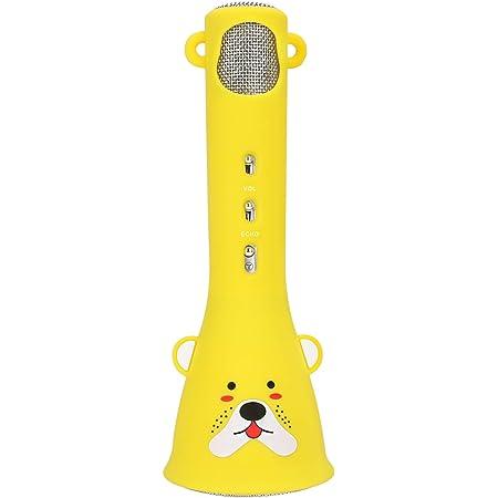WisFox カラオケマイク Bluetooth ワイヤレスマイク 子供のおもちゃ 誕生日・入学式・クリスマスプレゼント スピーカー 女の子ギフト 人気カラオケマシン 高音質無線マイク 楽しく歌おう 日本語説明書付き Android/iPhone/PCに対応
