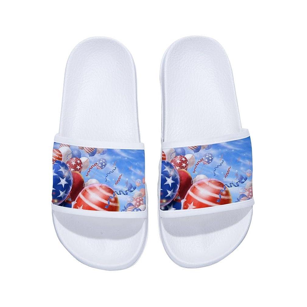 Eric Carl Slides Sandals with Balloon for Boys Girls Anti-Slip Swim Shower Pool Slippers
