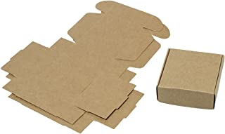 30 Pack Small Kraft Brown Gift Box (3x3x1 Inches)