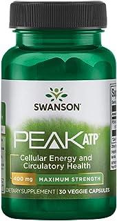 Swanson Maximum Strength Peak ATP 400 400 Milligrams 30 Veg Capsules