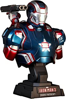 Marvel Hot Toys Iron Man 3 IRON PATRIOT 1/4 Scale Bust Figure The Avengers
